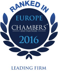 Logo Ranked in Europe Chambers 2016